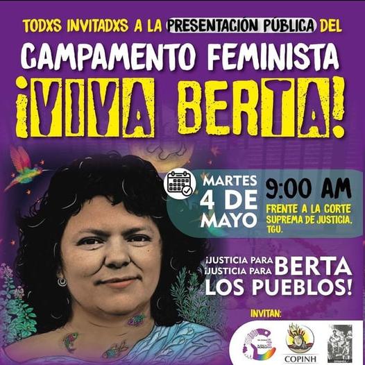 Presentación CAMPAMENTO FEMINISTA ¡VIVA BERTA!