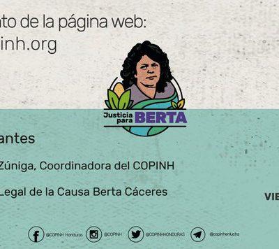 ¿Quieres conocer todo sobre la causa Berta Cáceres?