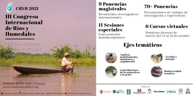 Congreso Internacional de ríos y humedales 2021.