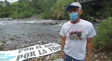 Mensaje Edidido Bonilla -defensor del ambiente- desde Chiriquí, Panamá