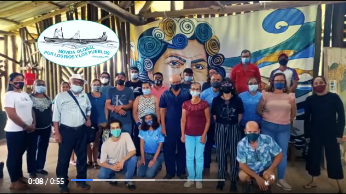 Encuentro de defensorxs de los ríos en la comunidad de Longo Mai de Pérez Zeledón, Costa Rica